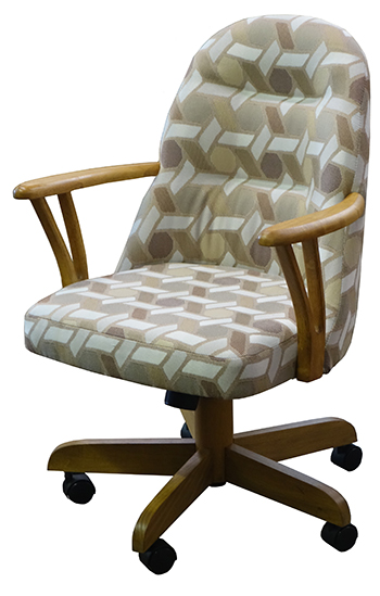 226 Caster Chair with Arms