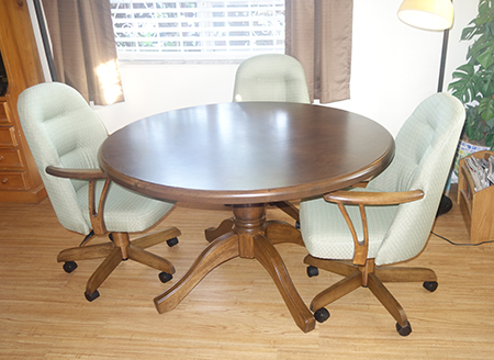Round Table 226 Caster Chairs
