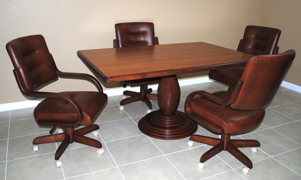 36 x 54 Table 270 Caster Chairs