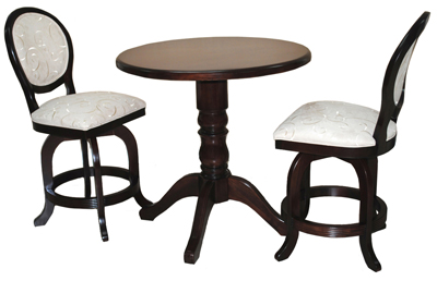 3 Piece Pub Set 500 Stools