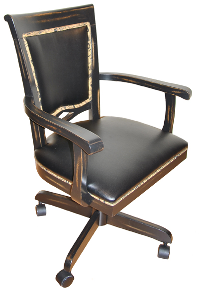 400 Caster Chair with Arms