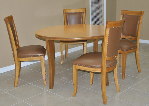 Dinette 212 - 4 Side Chairs