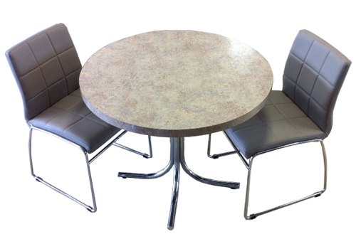 C-270 Chairs Formica Table
