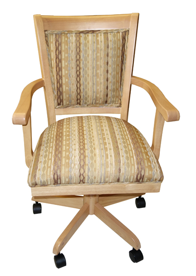 Mango Caster Chair with 400 Arms
