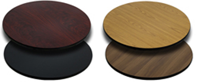 Round Reversible Table Top