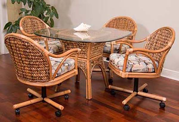 Alfa Rattan Panama Honey Dinette