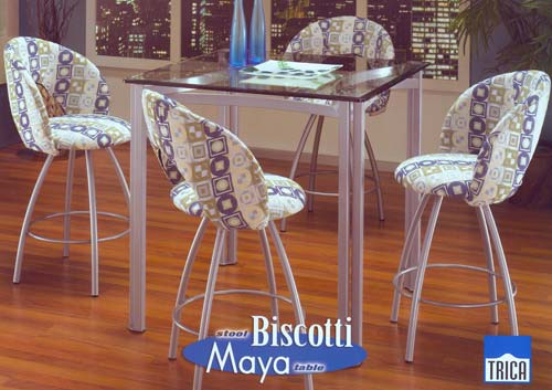 Biscotti Maya Bar Height