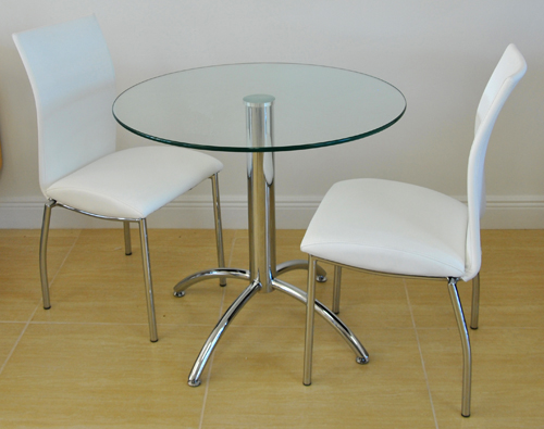 4067 Chairs Chrome Table