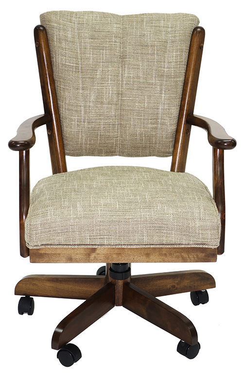Classic Wood Caster Chair