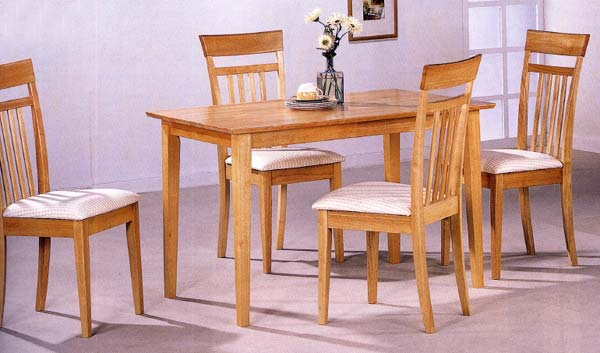 CO10 Wood Kitchen Table and Chairs