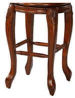 Wood Bar Stool Base - Josh