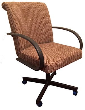 M-60 Metal Caster Chair