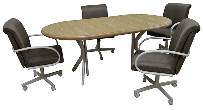 M-60 Caster Chairs 42x60x78 Table
