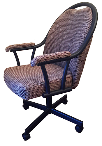 M-80 Metal Caster Chair