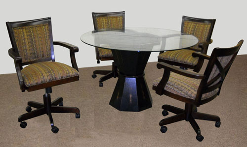 Mango Glass Table Dining Set