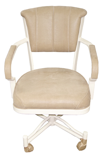 Metal Beige Chair Caster