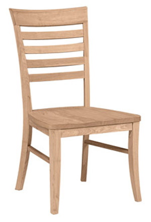 Roma Chair Wood Seat