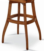 Wood Bar Stool Base - S-Base