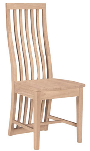 Sicily Chair Wood Seat