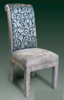T-17 Decorative Back Parsons Chair