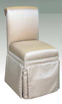 T-2034 Square Skirted Parsons Chair