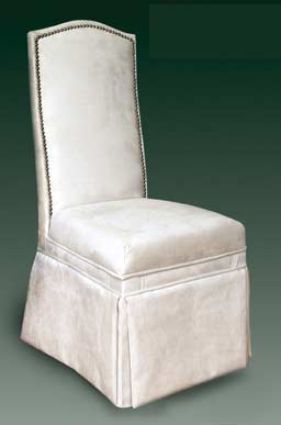 T-165 Contemporary Skirted Parsons Chair