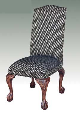 T-745 Parsons Chair with Wood Claw Leg