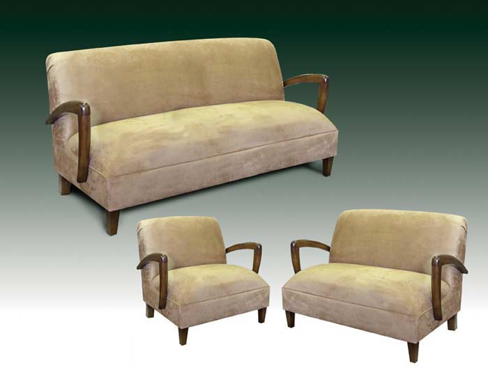 T-3700 Modern Sofa Love Seat and Chair