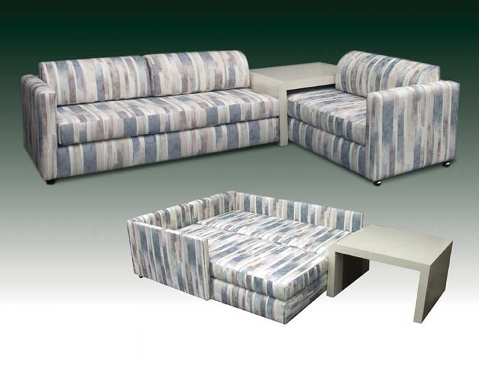 T-2015 Bahama Twin Couch Bed
