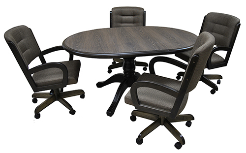W-260 Caster Chairs 42x42x60 Table