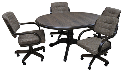 W-270 Caster Chairs 42x42x60 Table
