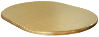 Wood Extension Round/Oval Table Top
